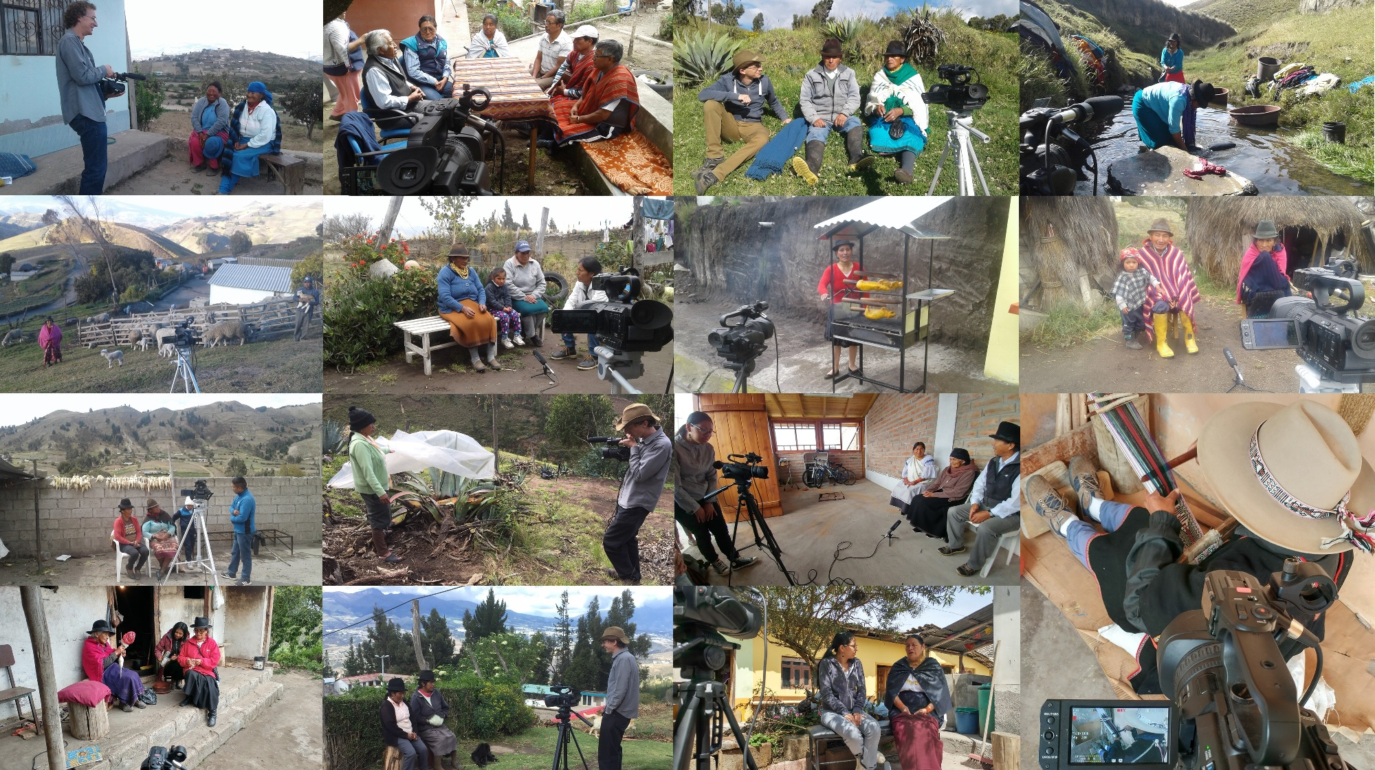 """Deposit page image for the collection """"Urgent video documentation of Ecuadorian Highland Quichua (a Quechuan language): focus on regions of of imminent language shift"""""""