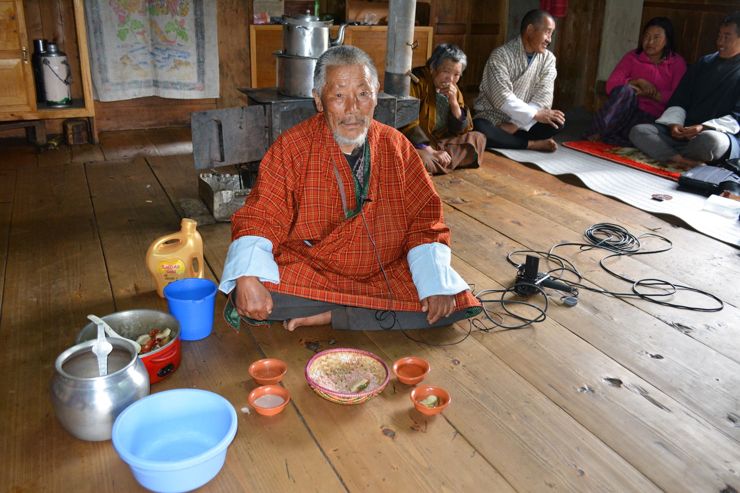 """Deposit page image for the collection """"Linguistic and ethnographic documentation of Western dialects of Nyenkha spoken in Phobjikha valley in Wangduephodrang, Bhutan"""""""