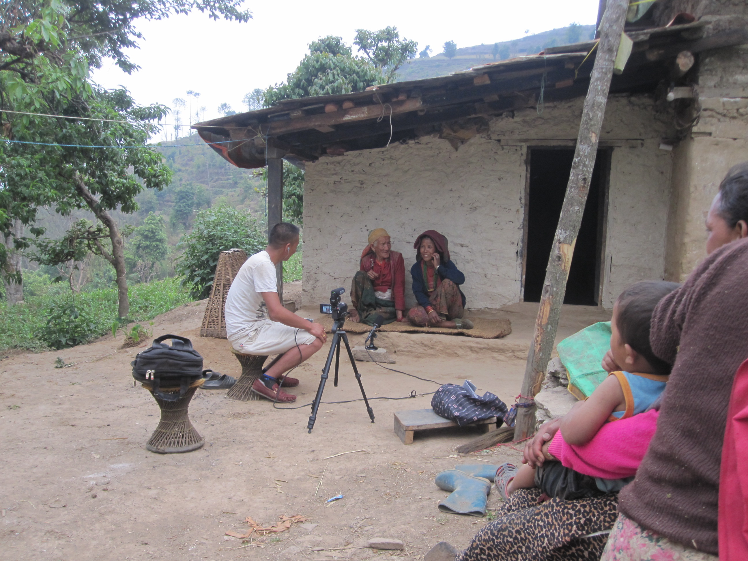 """Deposit page image for the collection """"Documenting and describing Kagate, an endangered Tibeto-Burman language of Nepal"""""""