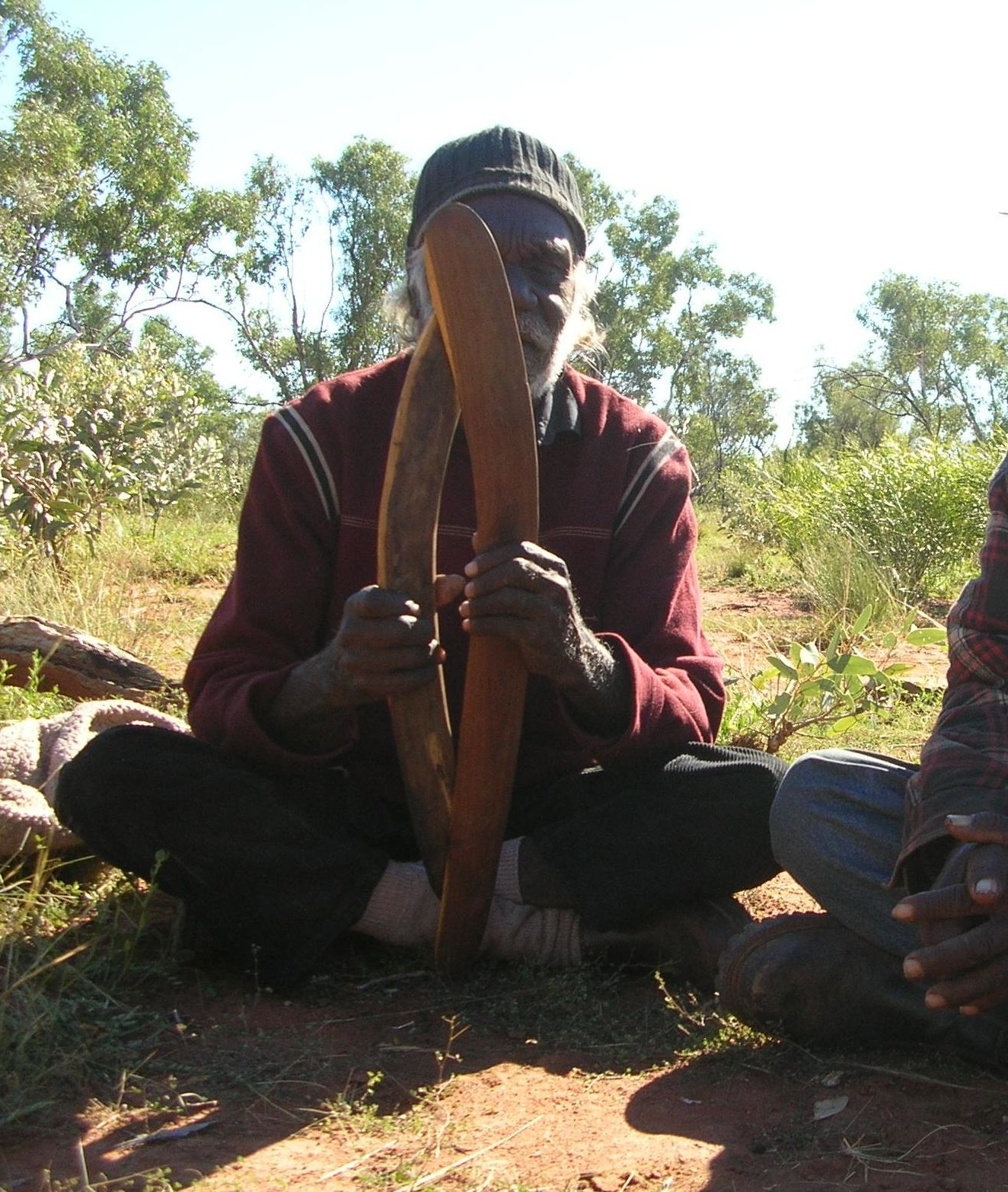 """Deposit page image for the collection """"Arandic songs: Aboriginal verbal art in Central Australia"""""""