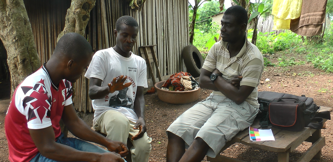 "Deposit page image for the collection ""Documentation and description of a sign language in Cote d'Ivoire"""