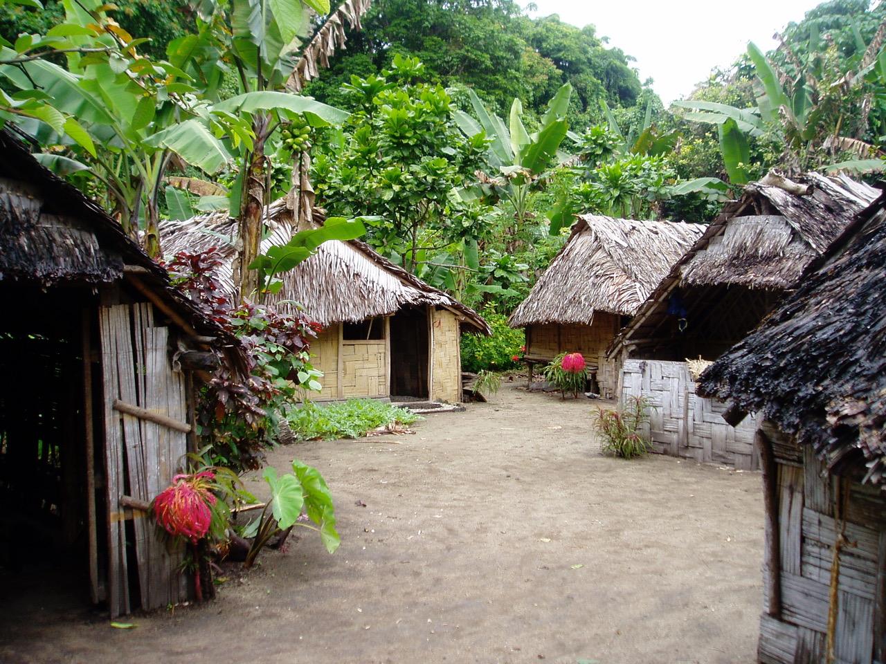 Village on Toman Island photographer: Anastasia Riehl