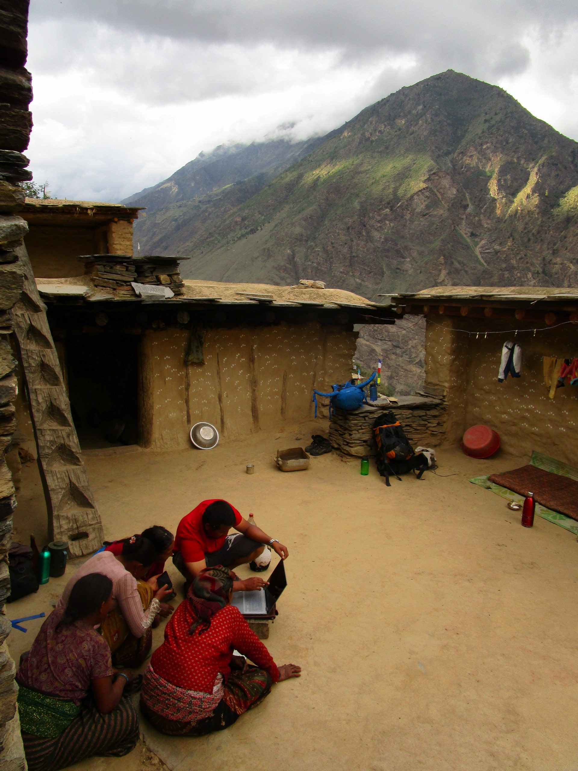 Deposit page image for the collection 'An audio-visual archive and searchable corpus of Kaike, an endangered Tibeto-Burman language of Dolpa, Nepal'